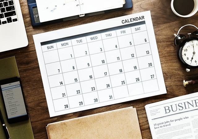 カレンダー photo